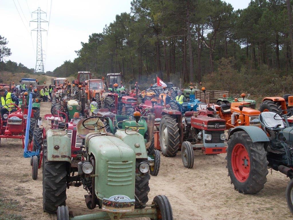 Rassemblement tracteurs