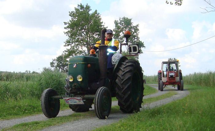 véhicule agricole balade Vendée