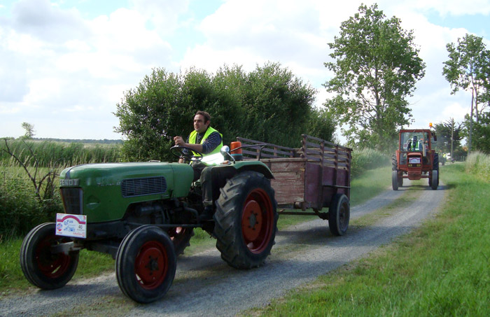 véhicule agricole vendée